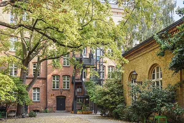 Pro Inklusio – Fachschule für Sozialpädagogik: Schulhof